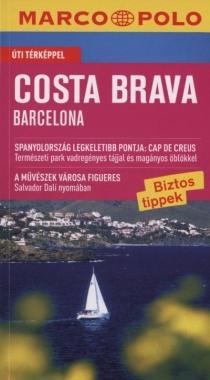 Costa Brava - Barcelona - Útitérképpel - Marco Polo