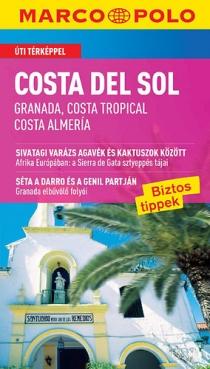 Costa del Sol (Granada, Costa Tropical, Costa Almería) - Útitérképpel - Marco Polo