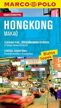 Hongkong - Makaó - Várostérképpel - Marco Polo