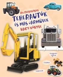 Teherautók és más járművek nagy könyve - Rejtvénykönyv