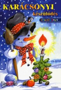 Karácsonyi készülődés - Kifestőkönyv