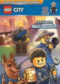 LEGO City - Legyél te is hegyi rendőr! - Ajándék hegyi rendőr minifigura