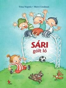 Sári gólt lő