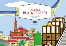Színezd ki Budapestet - Színező 3-99 éveseknek