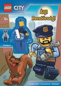 LEGO City - Állj! Rendőrség! - Ajándék rendőr minifigura