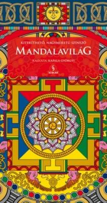 Mandalavilág - Kiteríthető, nagyméretű színező