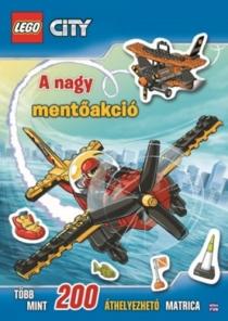 LEGO City - A nagy mentőakció - 200 áthelyezhető matrica
