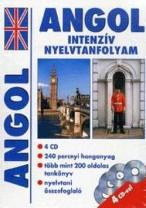 Angol intenzív nyelvtanfolyam (CD melléklettel)