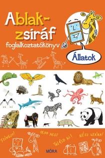 Állatok - Ablak-zsiráf foglalkoztatókönyv