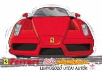Lenyűgöző utcai autók - Ferrari óriás színezőkönyv