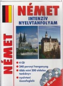 Német intenzív nyelvtanfolyam (CD melléklettel)