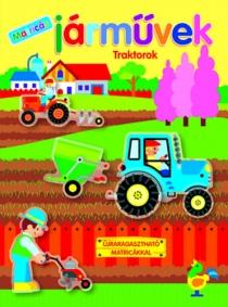 Járművek - Traktorok - Újraragasztható matricákkal
