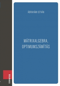 Mátrixalgebra, optimumszámítás