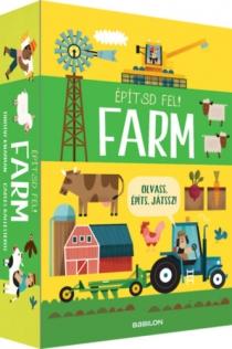 Építsd fel! Farm - Olvass, építs, játssz!