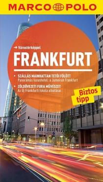 Frankfurt - Útitérképpel - Marco Polo